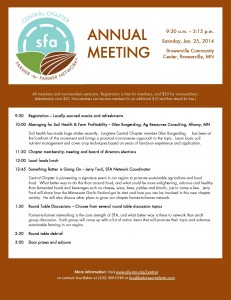 Central Chapter Annual Meeting_2014_Flyer