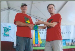 Garlic Contest Gary & Carl 2014