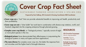 Cover Crop Fact Sheet CROP