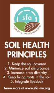 Soil Health Principles magnet design