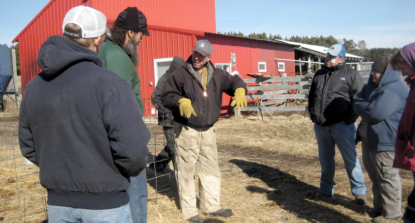 Deep Roots Wintering Livestock event for archive