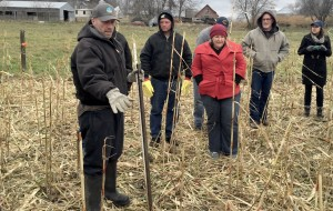 SFA Livestock & Grazing Specialist Kent Solberg speaks about cover crops during our soil health event Nov. 12, 2015, at Dan Tiffany's farm in Redwood Falls, Minn.