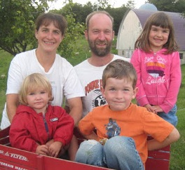 Pesch Family from Lida Farm.