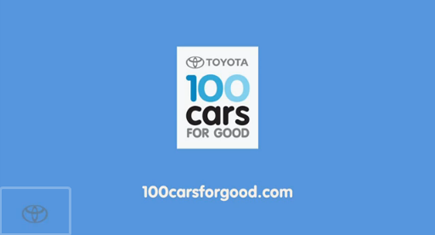 100 Cars for Good